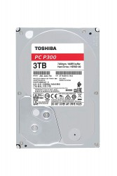 "TOSHIBA 3TB INTERNAL HARD DRIVE 3.5"" SATA 7200RPM"
