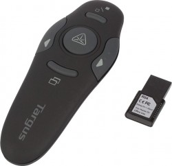 Targus Wireless USB Presenter with Laser Pointer - Black (AMP16AP)
