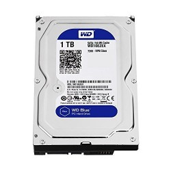 "WD 1TB INTERNAL HARD DRIVE (BLUE) 3.5"" SATA 7200RPM"