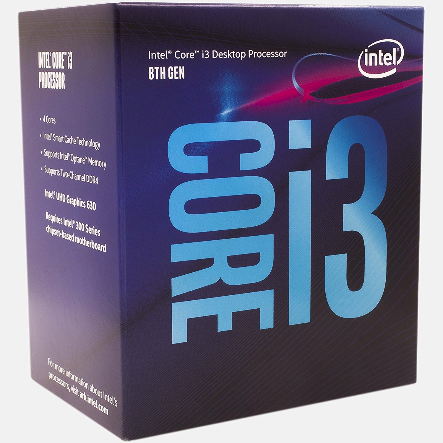 Intel® Core™ i3-8100 Processor 6M Cache, 3 60 GHz