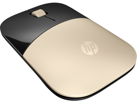 HP Z3700 Black Gold Silver Red Blue White Wireless Mouse