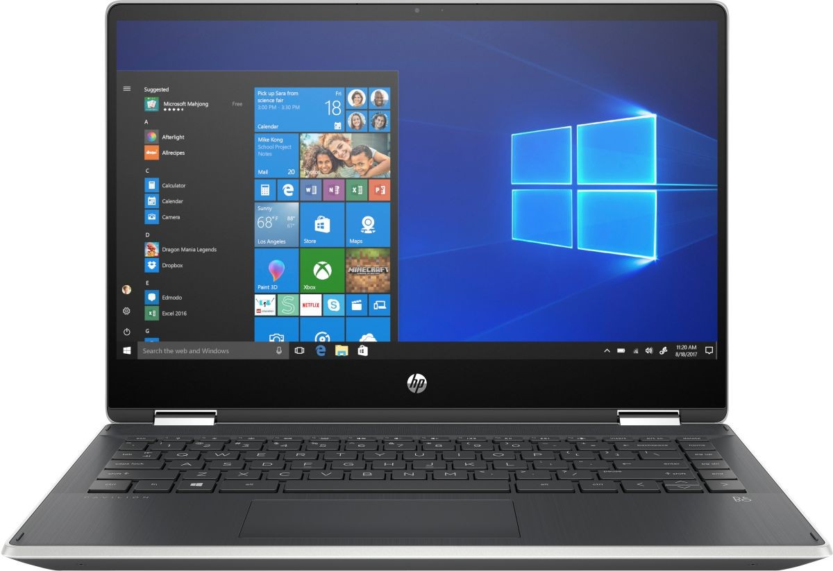 Hp Pavilion X 360 Convertible 14 Dh1040tx I5 10th Gen 14 Inch Fhd Touch