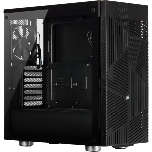 Corsair Casing 275R Airflow Tempered Glass Mid-Tower Gaming Case — Black