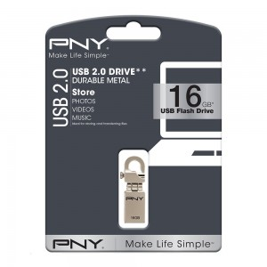 PNY HOOK ATTACHE 16 GB USB 3.0 MOBILE DISK DRIVE
