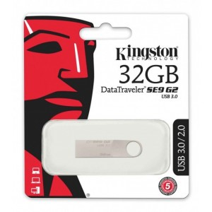 KINGSTONE 32 GB DATA TRAVELER USB 3.0 MOBILE DISC DRIVE # DT100 G3 32GB