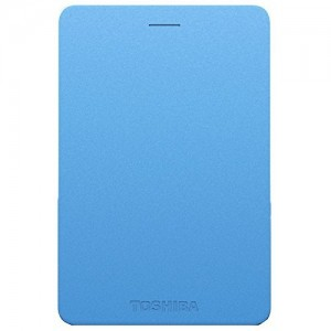TOSHIBA EXTERNAL HDD CANVIO ALUMY 1TB, BLUE