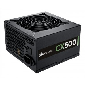 Corsair CX500 — 80 PLUS® Bronze Certified Power Supply