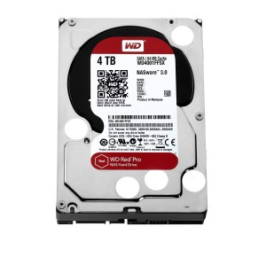 "WD 4TB INTERNAL HARD DRIVE (RED PRO) 3.5"" SATA 7200RPM (WD4002FFWX)"