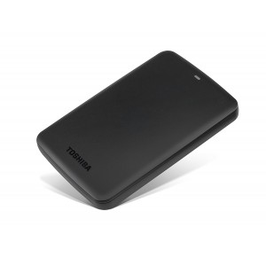 TOSHIBA EXTERNAL HDD CANVIO ALUMY 2TB, BLACK