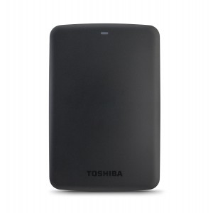 TOSHIBA EXTERNAL HDD CANVIO BASIC 1TB, WHITE