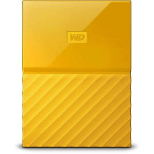 WD 1TB EXTERNAL HDD MY PASSPORT NEW, YELLOW