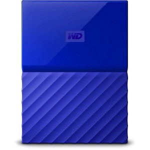 WD 1TB EXTERNAL HDD MY PASSPORT NEW, BLUE