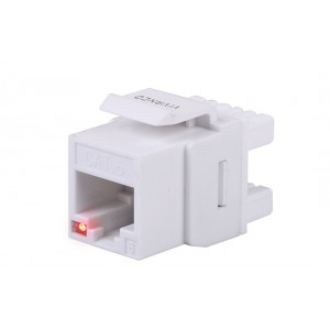 VIVANCO CAT 6 KEYSTONE JACK, UNSHIELDED, TRACEABLE