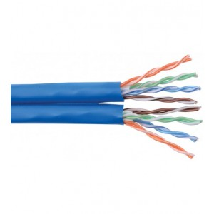 CAT6 4 Pair U/UTP Cable (305m, Unshielded, PVC, BLUE)