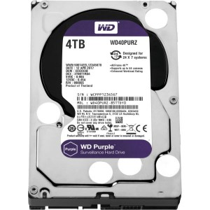"WD SURVEILLANCE HARD DRIVE (PURPLE) 4TB 3.5"" SATA"