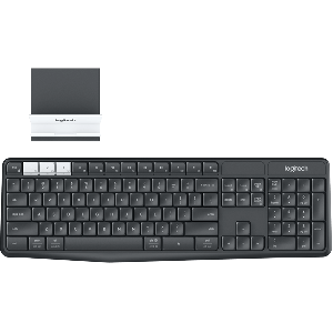 Logitech K375s Wireless Keyboard Multi-Device Black