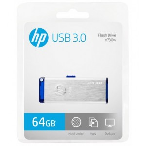 HP 64GB USB 3.0 MOBILE DISK DRIVE #X730W