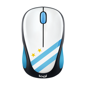 Logitech Wireless World Cup Mouse M238 Argentina