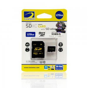 TwinMOS 128GB MICRO SD CARD CL-10
