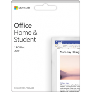 Office Home and Student 2019 English APAC Medialess (79G-05066)