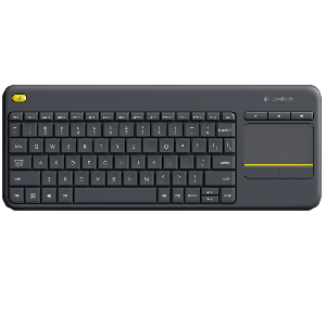 LOGITECH KEYBOARD K400 PLUS BLACK (920-007165)