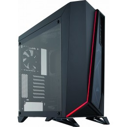 Corsair Carbide Series SPEC-OMEGA Mid-Tower Tempered Glass Gaming Case Black/White, Black/Red, Black
