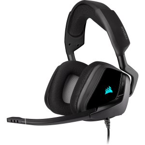 CORSAIR HEAD PHONE VOID RGB ELITE USB Premium with 7.1 Surround Sound Carbon (AP) # CA-9011203-AP