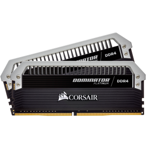 CORSAIR DOMINATOR® PLATINUM 16GB (2 x 8GB) DDR4 DRAM 3200MHz C16 Memory Kit