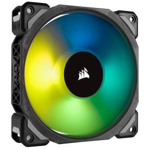 CORSAIR CASING FAN ML120 PRO RGB, 120mm Premium Magnetic Levitation RGB LED PWM Fan-Single Pack # CO-9050075-WW