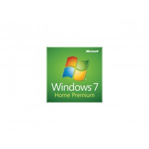 Microsoft Windows 7 Home Premium 64Bit Service Pack 1Pack English OEI DVD (GFC-02733)