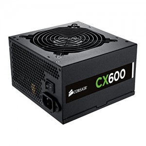 Corsair CX600 — 80 PLUS® Bronze Certified Power Supply