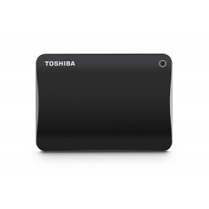 TOSHIBA 1TB EXTERNAL HDD CANVIO CONNECT (BLACK)