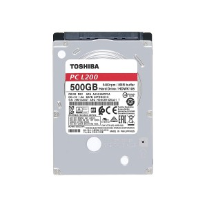 TOSHIBA 500GB INTERNAL LAPTOP HDD 2.5 INCH-7mm