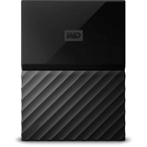 WD 1TB EXTERNAL HDD MY PASSPORT NEW, BLACK