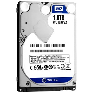 "WD 1TB INTERNAL NOTEBOOK HARD DRIVE (BLUE) 2.5"" SATA"