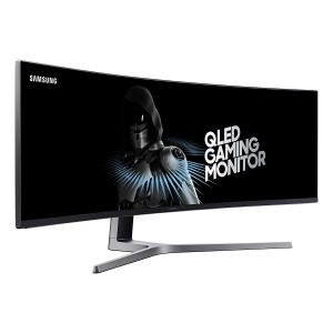 SAMSUNG 49 INCH GAMING CURVED MONITOR (LC49HG90DMU)