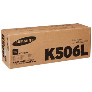 Samsung CLT-K506L High Yield Black Toner Cartridge