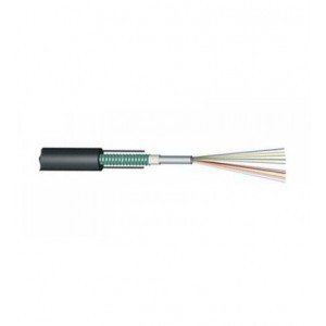 UNITUBE LIGHT ARMOURED OPTICAL FIBRE CABLE, 4CORE, SINGLE MODE
