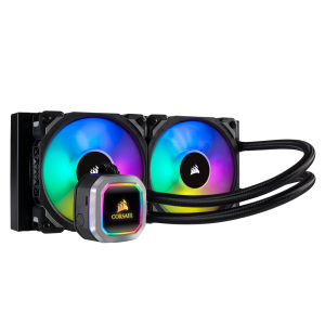 Corsair Hydro Series™ H100i RGB PLATINUM 240mm Liquid CPU Cooler