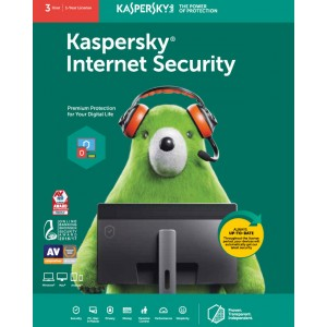 Kaspersky Internet Security (3 User | 1 Year License)