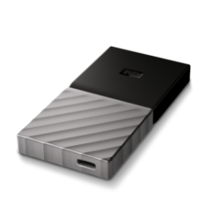 WDBKVX2560PSL # WD EXTERNAL SSD MY PASSPORT 256GB USB 3.1 with type C & A Compatible