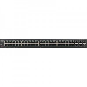 Cisco SF300-48 48-Port 10 100 Managed Switch with Gigabit Uplinks