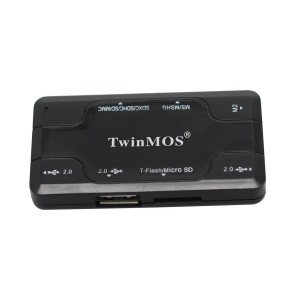 TWINMOS PORTABLE MOBILE SIM & MEMORY CARD READER