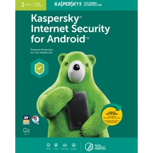 Kaspersky Internet Security for Android (1 Device | 1 Year License | Smart phone / Tablet)