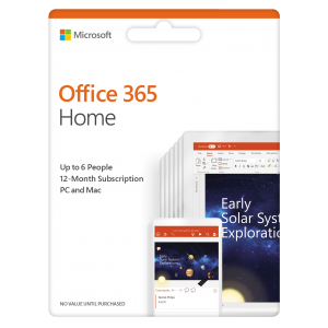 Microsoft Office 365 Home Premium (6GQ-00968)