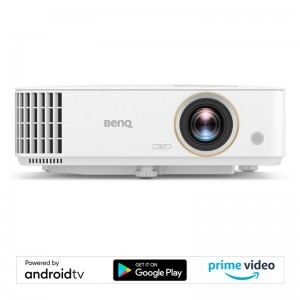 BENQ TH685i Smart TV Projector to Use In Gaming and Home Theater Intelligent LampSave Mode for 15000 hrs Lamp Life, 3500 Lumens Brightness FULL HD 1920x1080 Resolution and Contrast Ratio 10000:1, Full Featured Android TV, HDMI VGA and USB Universal Connec