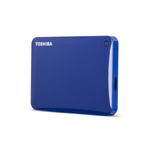 TOSHIBA 1TB EXTERNAL HDD CANVIO CONNECT (BLUE)