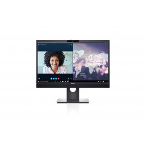 Dell P2418HZM 24 Inch Professional Video Conferencing Monitor